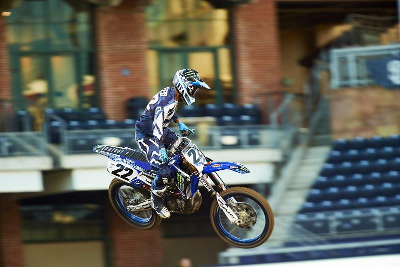 #22 C・リード(YZ450F)