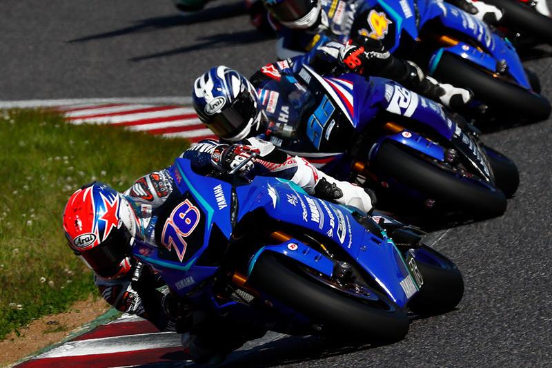 SS600 Race 1: 激戦の末、4位を獲得した#76 Yuki Ito & YZF-R6 (YAMAHA RACING TEAM ASEAN)