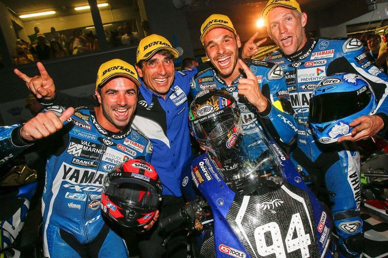 YARTとのバトルを制して3連勝し、タイトルを視界に捉えたGMT94 Yamaha Official EWC Team