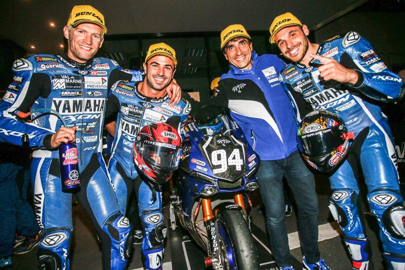 2連勝を達成したGMT94 Yamaha Official EWC Team。ランキングも2位に浮上
