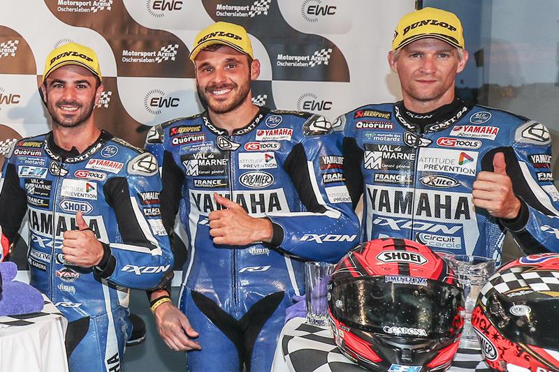2位表彰台を獲得、最終戦を残しランキング2位につけるGMT94 Yamaha Official EWC Team