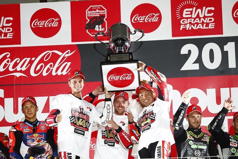 鈴鹿8耐で4連覇を達成したYAMAHA FACTORY RACING TEAM