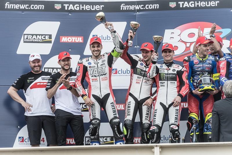 開幕戦、2位表彰台を獲得したYART Yamaha Official EWC Team