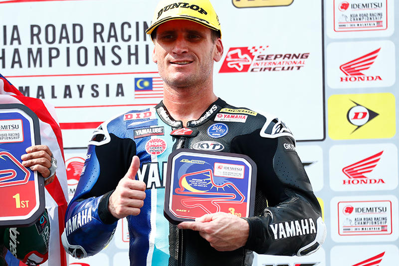 ASB1000 Race 1:#23 Broc Parkes (YAMAHA RACING TEAM ASEAN)
