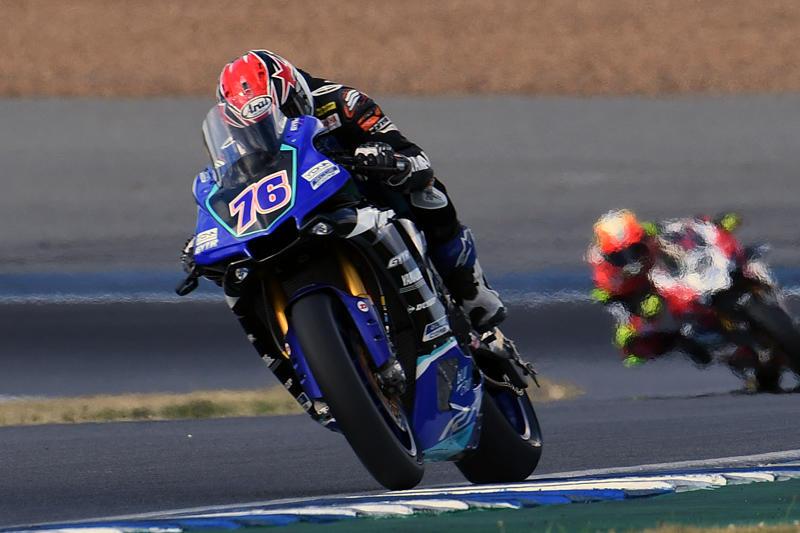 ASB1000 Race 1:#76 Yuki Ito & YZF-R1 (YAMAHA RACING TEAM ASEAN)
