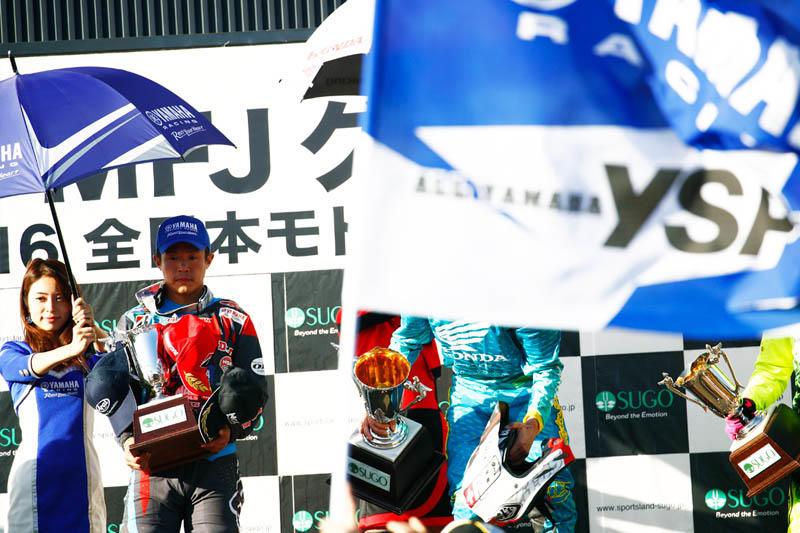 IA1:日本人トップとなる総合2位を獲得、有終の美を飾った#99平田優(YZ450FM)