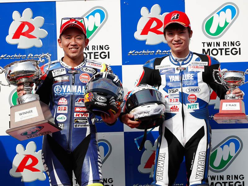 #1 中須賀克行 野左根航汰が1・3位表彰台を獲得!