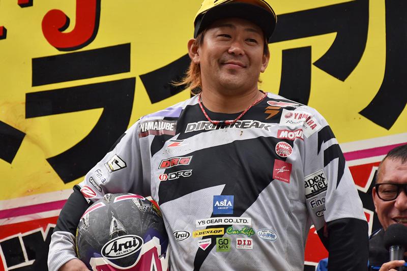 2位表彰台を獲得した#3 野崎史高&TYS250Fi