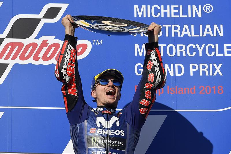 昨年のフランスGP以来となる優勝を獲得したM・ビニャーレス