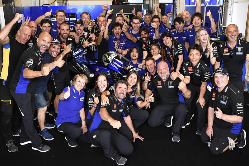 Monster Energy Yamaha MotoGPのM・ビニャーレスが今季初優勝