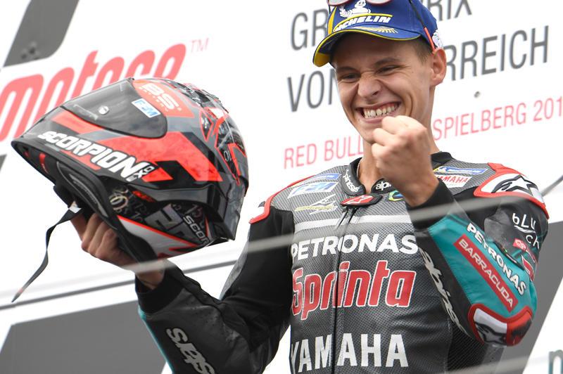 今季3度目の表彰台を獲得したPETRONAS Yamaha Sepang Racing TeamのF・クアルタラロ