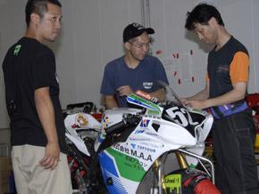 浜松8耐チーム