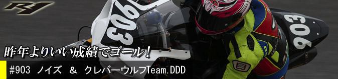 ノイズ & クレバーウルフ Team.DDD