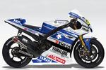 世界初公開! 中須賀選手日本GP参戦「YZR-M1」