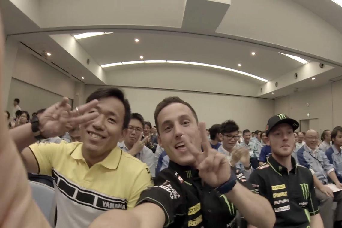 Monster Yamaha Tech 3/ポル&ブラッドリー プロモーションツアー(東京-浜松-磐田)