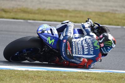 ロレンソがサーキットベストラップを更新する好タイムで予選1位 ロッシは0.081秒差で2位