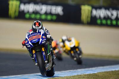 フリープラクティス4ではMovistar Yamaha MotoGPのロレンソとロッシが1、2トップタイム