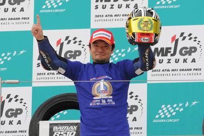 ST600、横江竜司選手がチャンピオンを獲得!