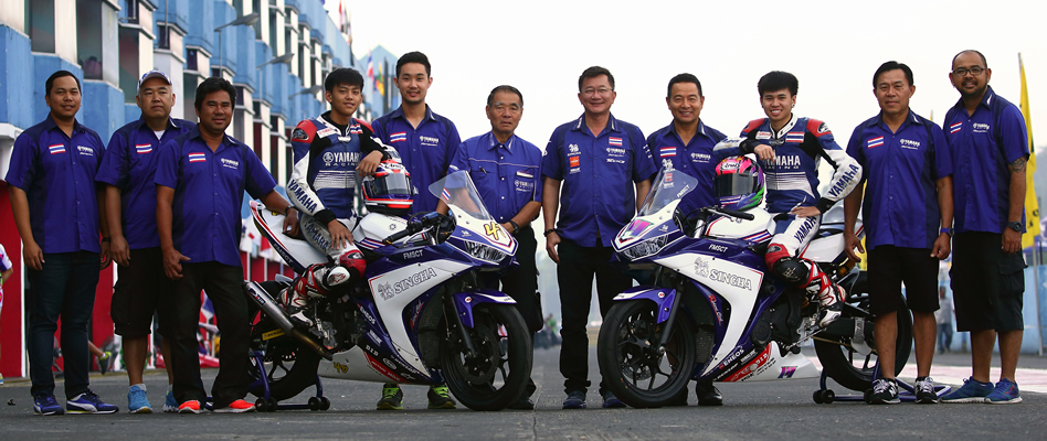 Yamaha thailand racing team asia road racing championship for Yamaha racing team