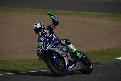 鈴鹿8耐 TOP10 TRIALポル・エスパルガロ選手が2'06.000のスーパーラップYAMAHA FACTORY RACING TEAMがポールポジションを獲得!