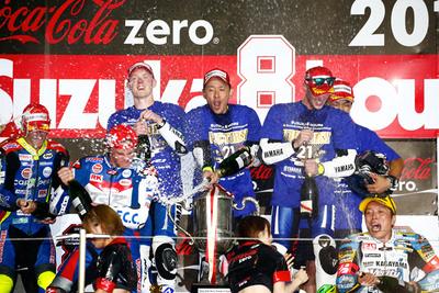 完璧なる制御 19年ぶりのヤマハ鈴鹿8耐勝利は「速さ」だけの成果ではない。 それを完全にコントロールする「強さ」が呼び寄せたのだ──。