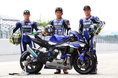 YAMAHA FACTORY RACING TEAM 2連覇に向けて好発進