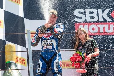 SBK:ローズがRace1でシーズン2度目の表彰台! ファン・デル・マークはRace2で4位