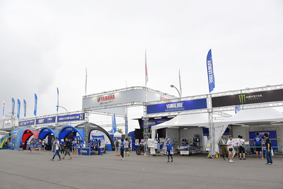 ライダートークショーや最新モデルのタッチ&トライ鈴鹿8耐ヤマハファンブースが7月28日(金)からオープン