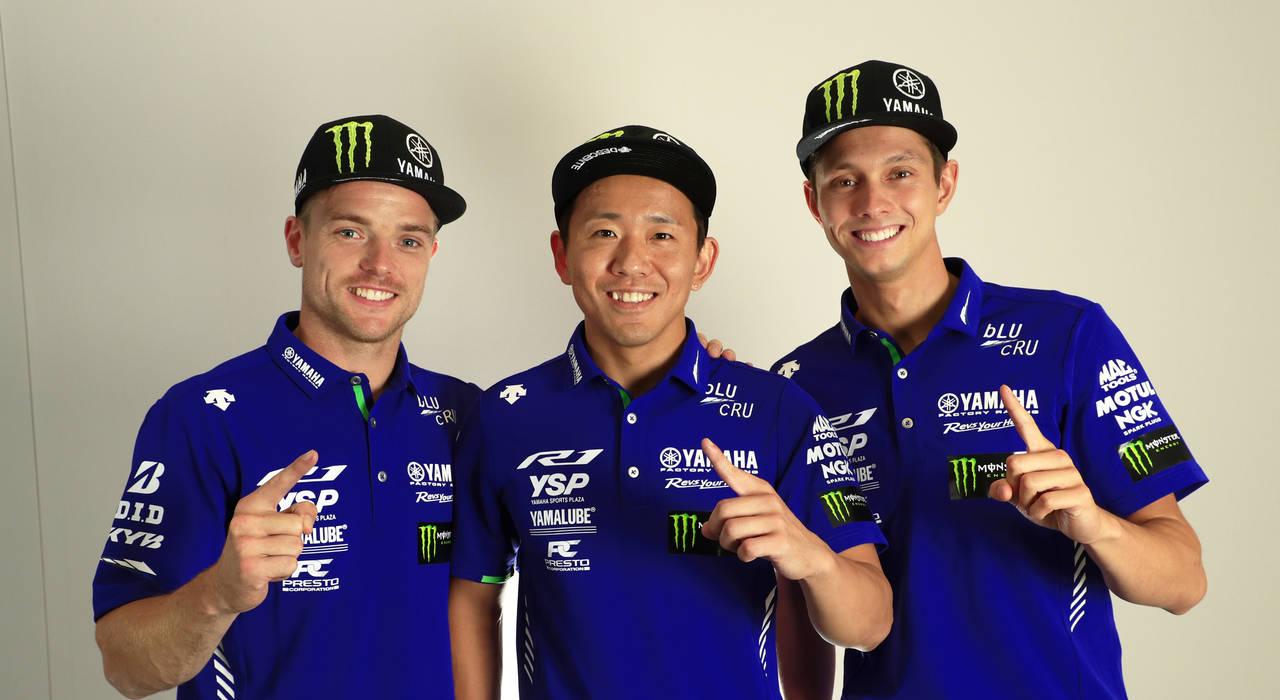 YAMAHA FACTORY RACING TEAM、3連覇へ青く、静かに輝く揺るぎない団結と自信