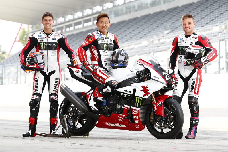 Yamaha factory racing team gets in gear to prep for fourth for Morning star motor co