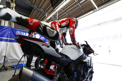 Yamaha's Teams Fully Prepped and Ready for the Race