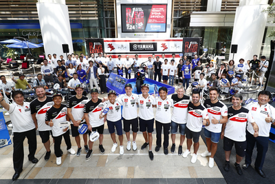 Spirits High at 2018 Yamaha Suzuka Special Exhibition R1evolution Event for Fourth Consecutive 8 Hours Win and EWC Title Defence
