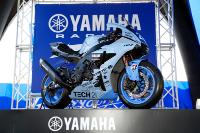 鈴鹿8耐参戦マシンTECH21カラー「YZF-R1」展示イベント