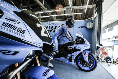 Solid Start for Yamaha Factory Racing Team on Opening Day in Suzuka