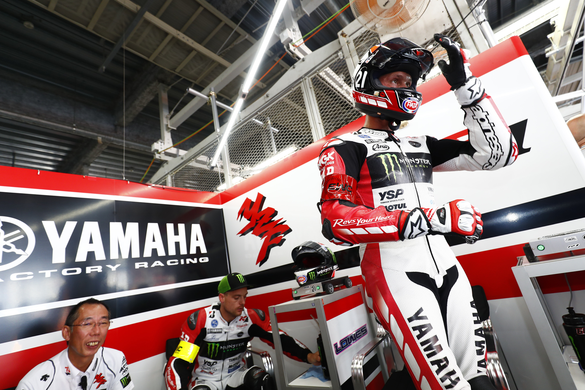 A Saturday of Surprises Sees Yamaha Factory Racing Team