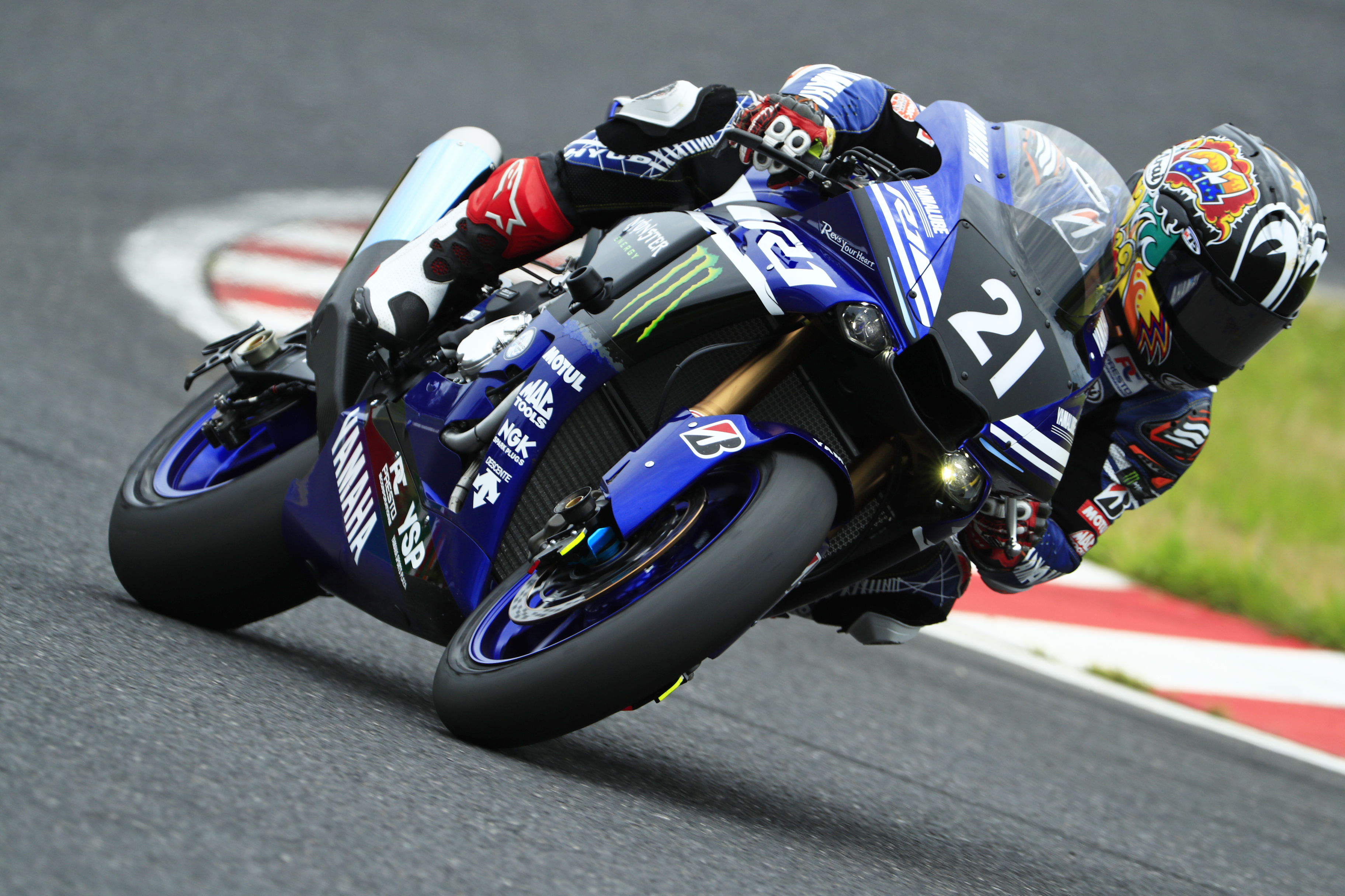 Yamaha factory racing team kicks off campaign for third for Motor city powersports hours