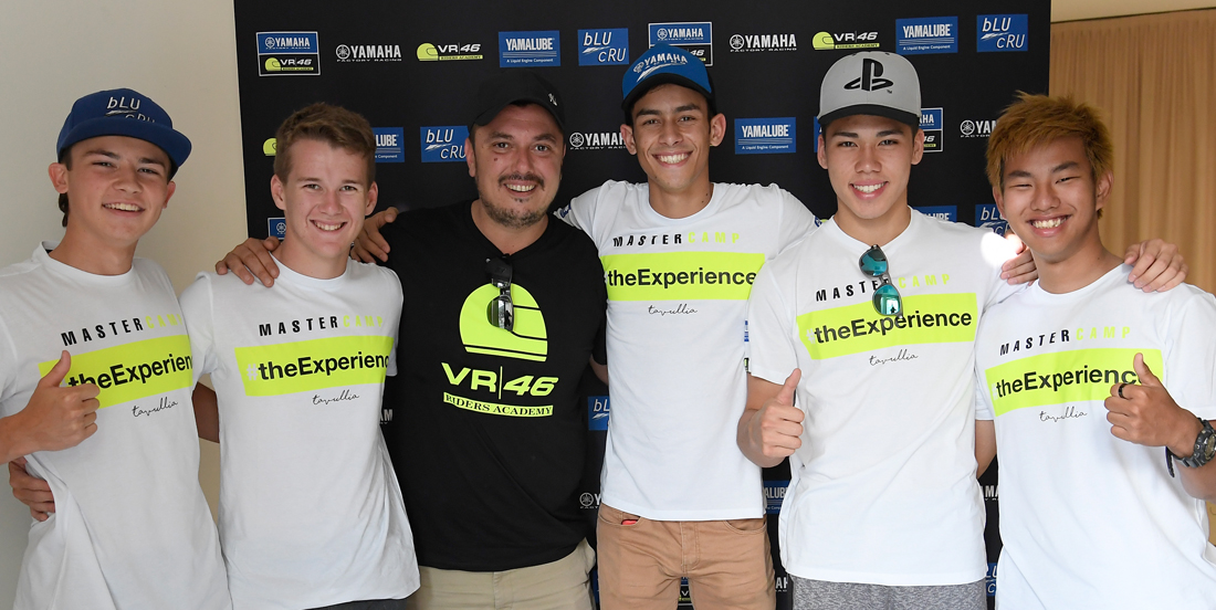 Five New Students All Set For Fifth Yamaha VR46 Master Camp Start