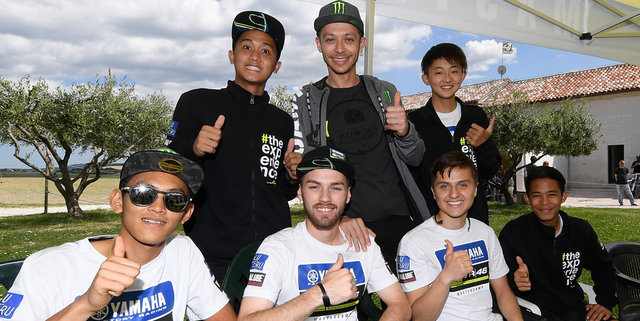 The Master Camp Riders Meet Valentino Rossi at the VR46 Motor Ranch