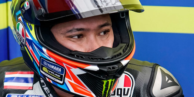 Apiwath Wongthananon Finishes 22nd in Second Moto3 World Championship Wildcard