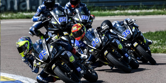 Master Camp Riders Get Acquainted with Autodromo Modena on Day 2