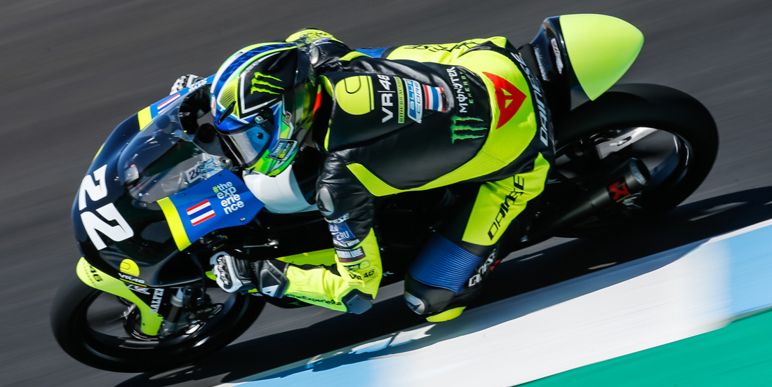 Strong Performance in Jerez by Thai Rider ApiwatWongthananon