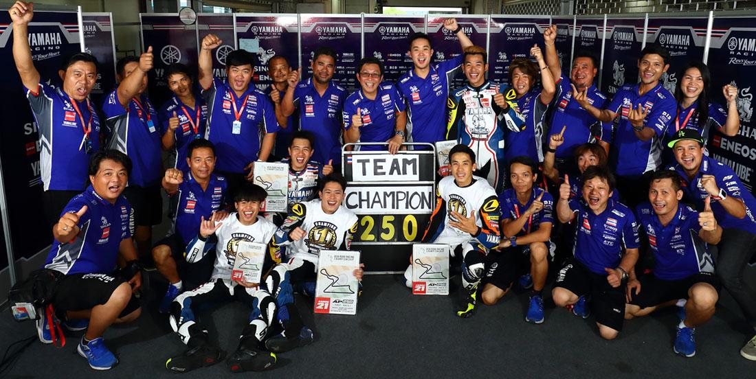 THE MASTER CAMP参加ライダーがARRC・AP250のチャンピオンを獲得
