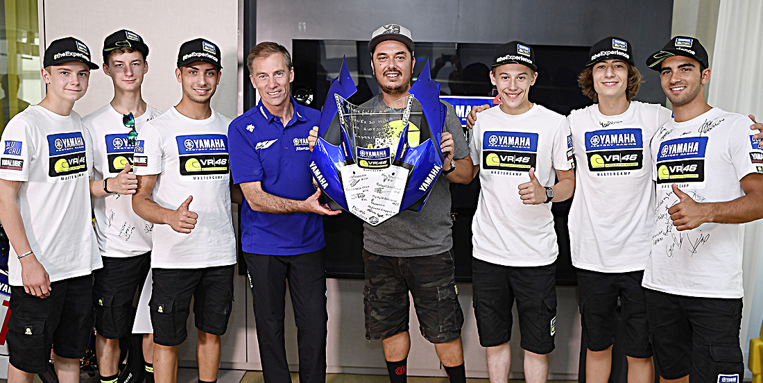 Students Finish The Fourth Yamaha VR46 Master Camp