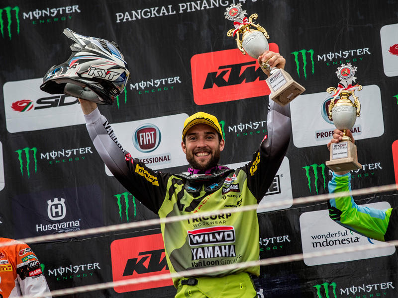 2015年のオランダGP以来となる優勝を飾った#24 S・シンプソン