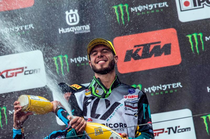 第1ヒートを2位で表彰台を獲得したアーヌー・トヌス