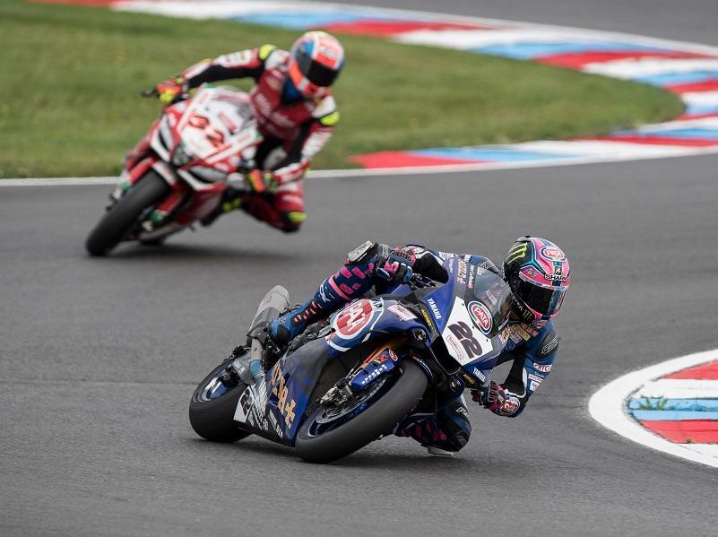 レース1で6位、レース2で5位となった#22 A・ローズ&YZF-R1