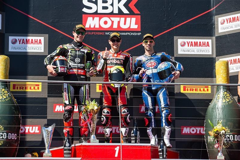 #33 マルコ・メランドリがレース1で3位表彰台獲得