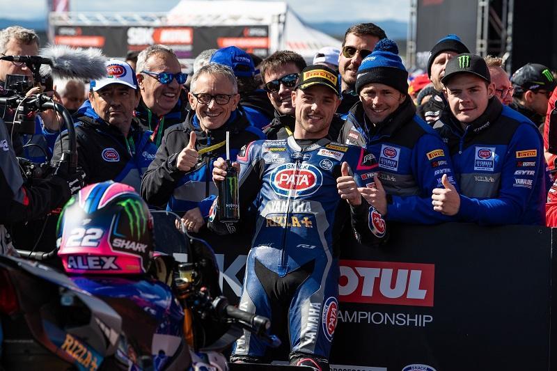 Pata Yamaha Teamの#22 A・ローズがスーパーポールで3位獲得