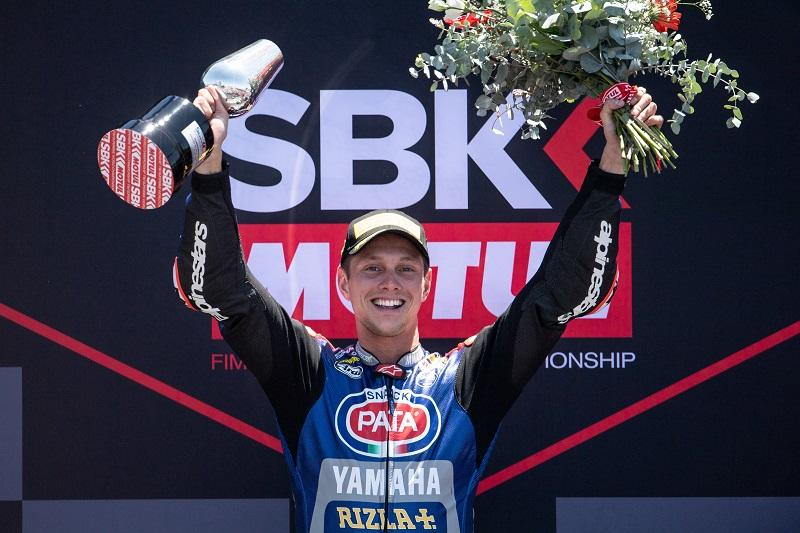 Pata Yamaha Teamの#60 M・ファン・デル・マークがレース1で2位、レース2で今季初優勝を獲得