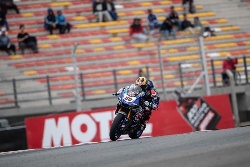 Pata Yamaha Teamの#60 M・ファン・デル・マーク(YZF-R1)が両レースで4位